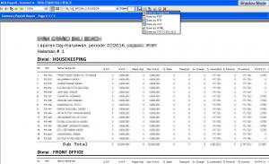 Payroll - Laporan Data Penggajian Per Divisi